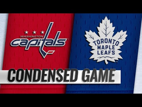 01/23/19 Condensed Game: Capitals @ Maple Leafs