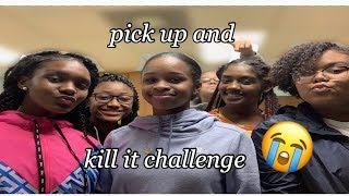 pick up and kill it challenge ! **funny**