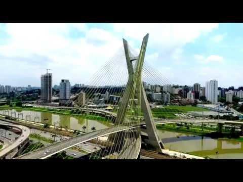 Ponte Estaiada de São Paulo - SP // Ponte Octávio Frias de Oliveira // Por Tiago Tejon