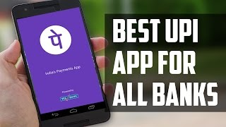 Hindi The best UPI Unified Payment Interface app for SBI  ICICI HDFC and all other banks