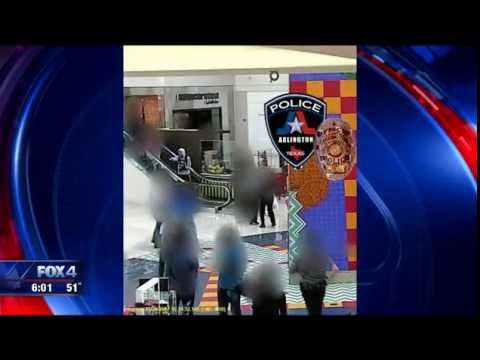 Suspect shot by police at Arlington Parks Mall