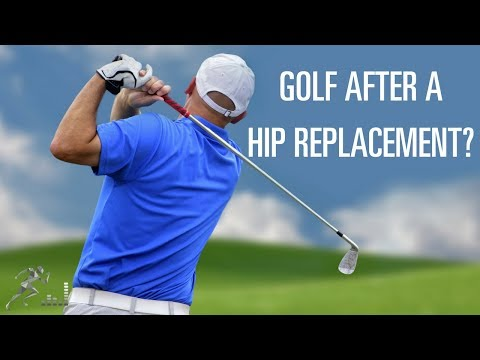 When can you play golf after hip replacement surgery?