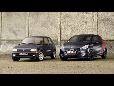 peugeot 205 gti vs peugeot 208 gti 30th comparatif essai automoto 2015 youtube. Black Bedroom Furniture Sets. Home Design Ideas
