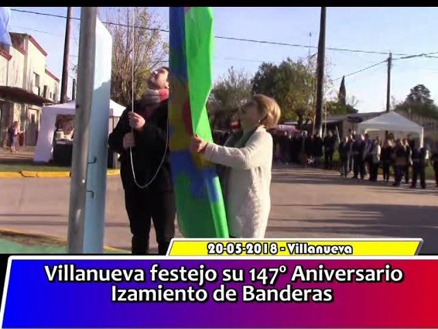 Izamiento de Banderas Villanueva