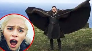 Emilia Clarke's Video Of Kit Harington Flying Like A Dragon | Game Of Thrones S07 | Daenerys & Jon