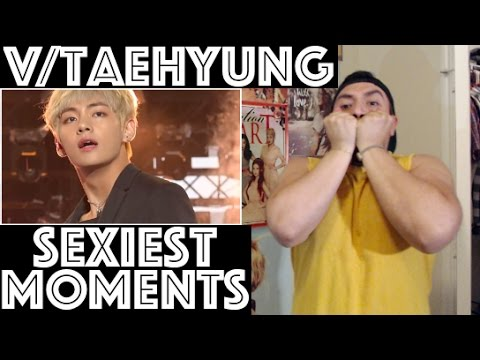 BTS V/TAEHYUNG SEXY MOMENTS REACTION [I CHEATED ON KOOKIE!!]