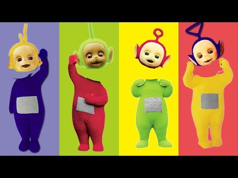 Wrong Heads Teletabies Tinky Winky Lala Dipsy Poh Finger Family Song
