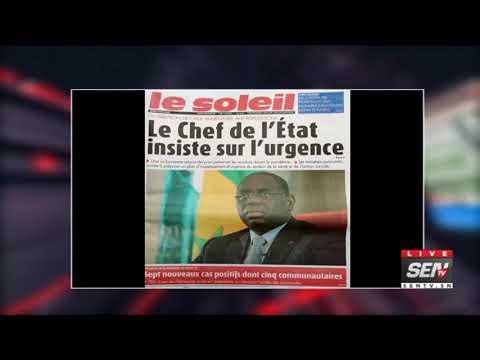 La Revue des titres avec Fabrice Nguema du du jeudi 9  Avril