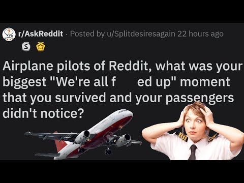 r/AskReddit Pilots of Reddit, when did you almost crash without the  passengers knowing?