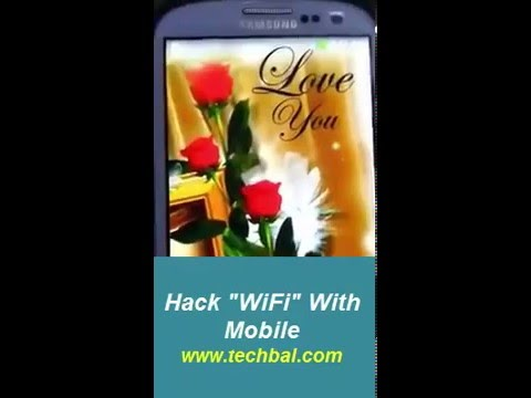 How To Hack Wifi Whit Android Mobile
