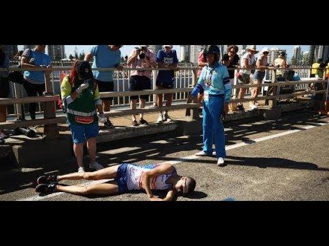 Commonwealth Games: Kollabierter Marathon-Star liegt minutenlang auf Straße