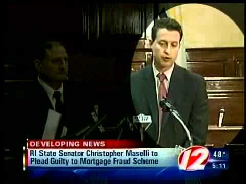 Maselli to plead guilty to federal bank fraud