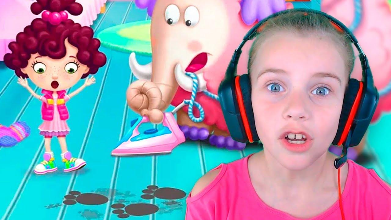 СЕКРЕТНОЕ ЖИВОТНОЕ МИИ веселое ДЛЯ ДЕТЕЙ детская | домашние животные игра видео