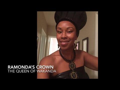 DIY Halloween Costume Queen Ramonda Crown