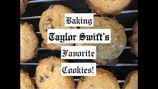 BAKING TAYLOR SWIFT&#39S FAVORITE COOKIES!! (with Cooking With Carson)