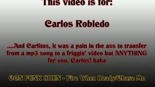 """FOR CARLOS aka """"LOS"""" - Fire When Ready/Chase Me - ConFunkShun"""