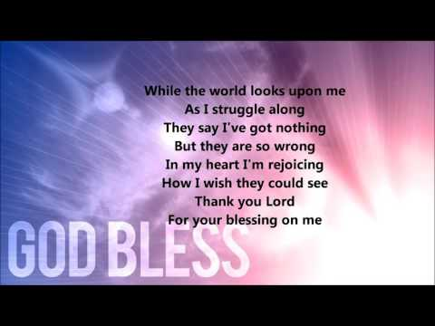 Thank You Lord For Your Blessings On Me (Lyrics)