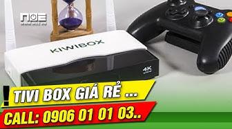 Kiwibox S2 biến tivi thường thành smat tivi đánh giá tổng quan