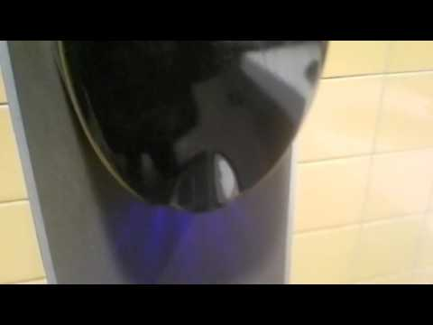 A talking Hand Dryer at Mc Donalds?