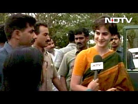 Priyanka Gandhi's First TV Interview (Aired: September 1999)