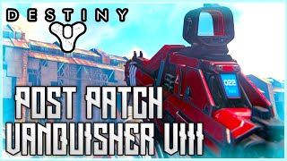 Destiny - Post Patch 2.0 Vanquisher VIII Gameplay (Auto Rifle Buff)