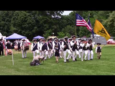 "Fyfes & Drumms of Olde Saratoga at the 2018 ""Olde 'Toga"" Muster"