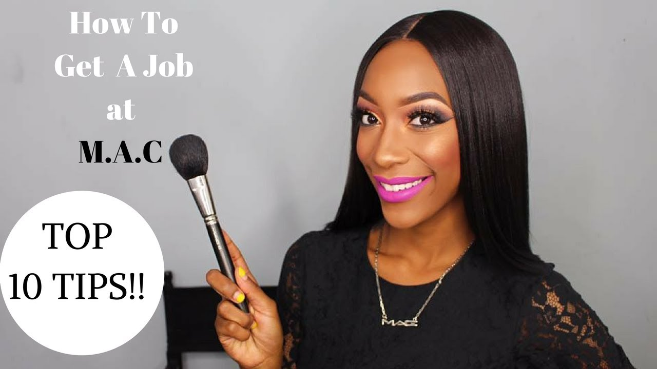 getting a job at mac makeup