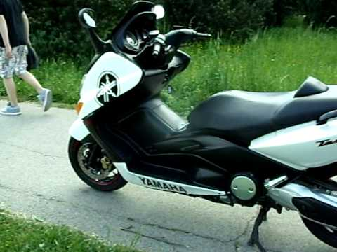yamaha t max 500 2005 white youtube. Black Bedroom Furniture Sets. Home Design Ideas