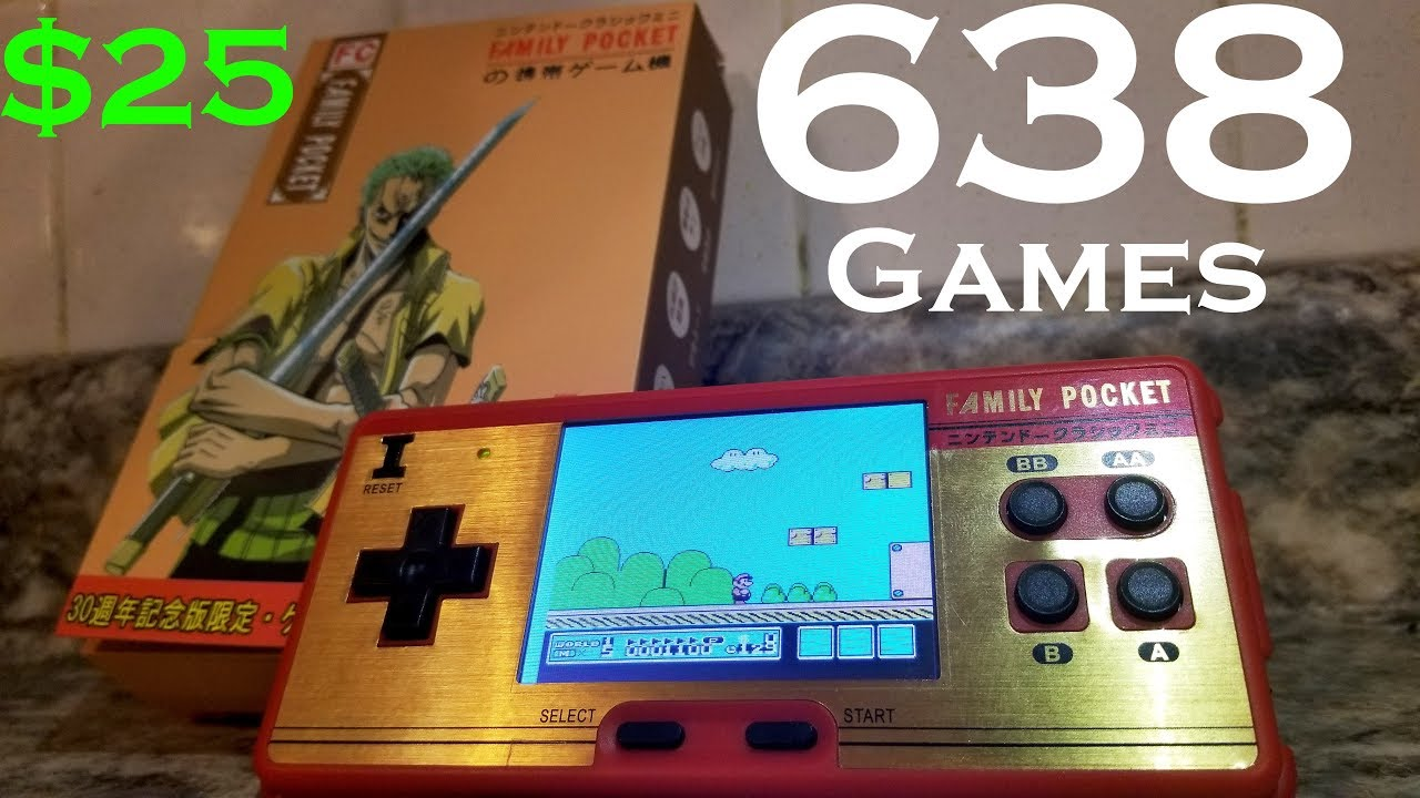 5b59f2a880210 638 Game Handheld Retro Classic Gaming Console Unboxing and Review ...