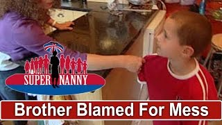 Older Brother Gets Blamed For Girls' Mess | Supernanny