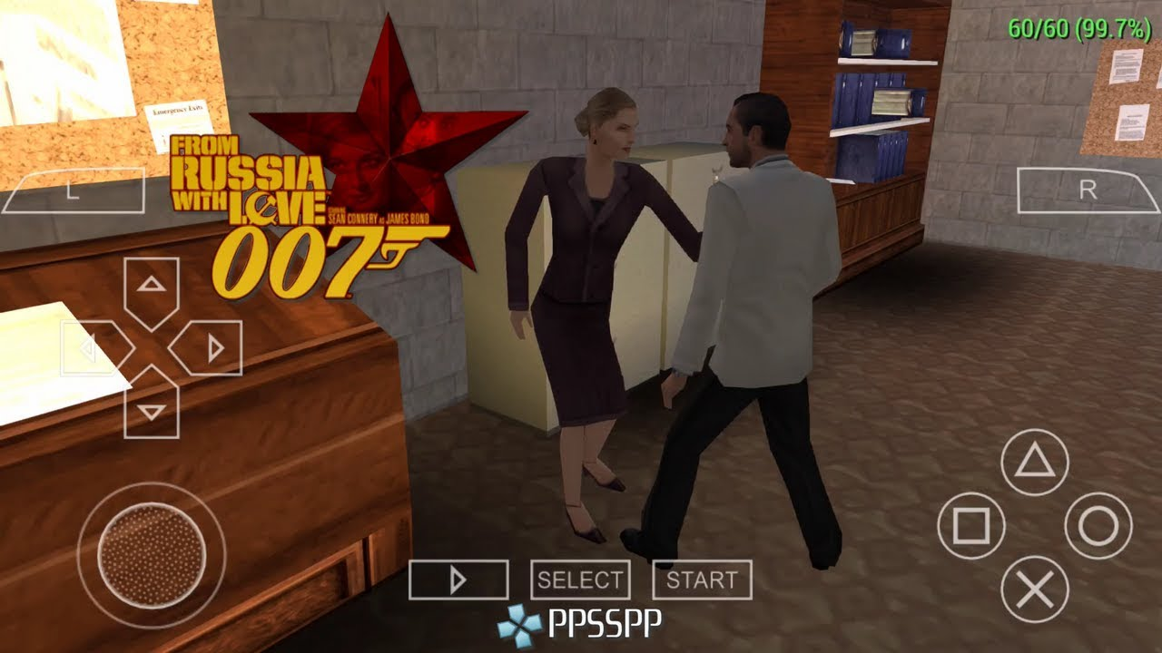 James Bond 007 From Russia With Love Gameplay Ppsspp Psp