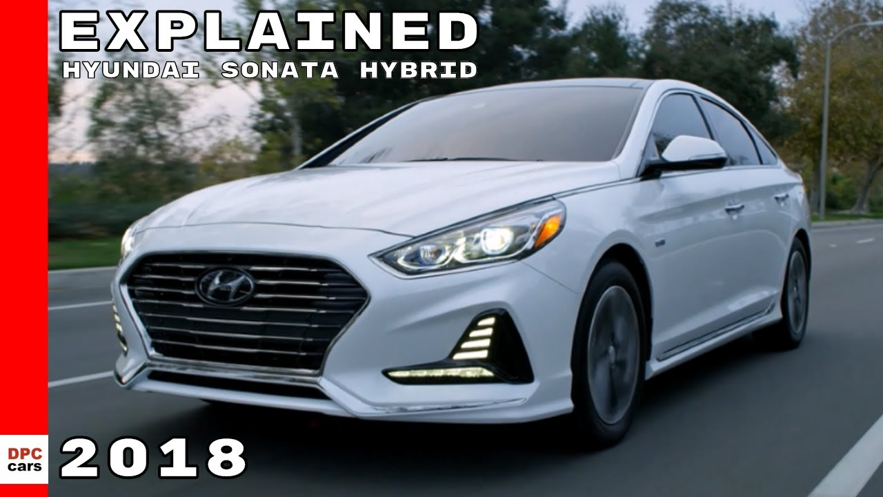 2018 Hyundai Sonata Hybrid And Plug In Explained