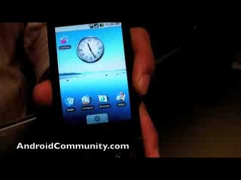T-Mobile G1 Hands-on Video 1