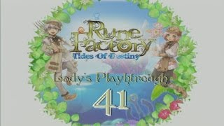 Rune Factory: Tides of Destiny - Playthrough Part 41 (Mystic Ruins + Frozen Island)