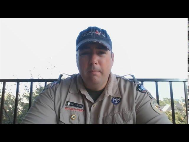 Webelos Woods Troop 52 presentation for Parents
