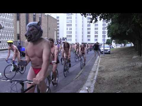 World Naked Bike Ride Cape Town 2016
