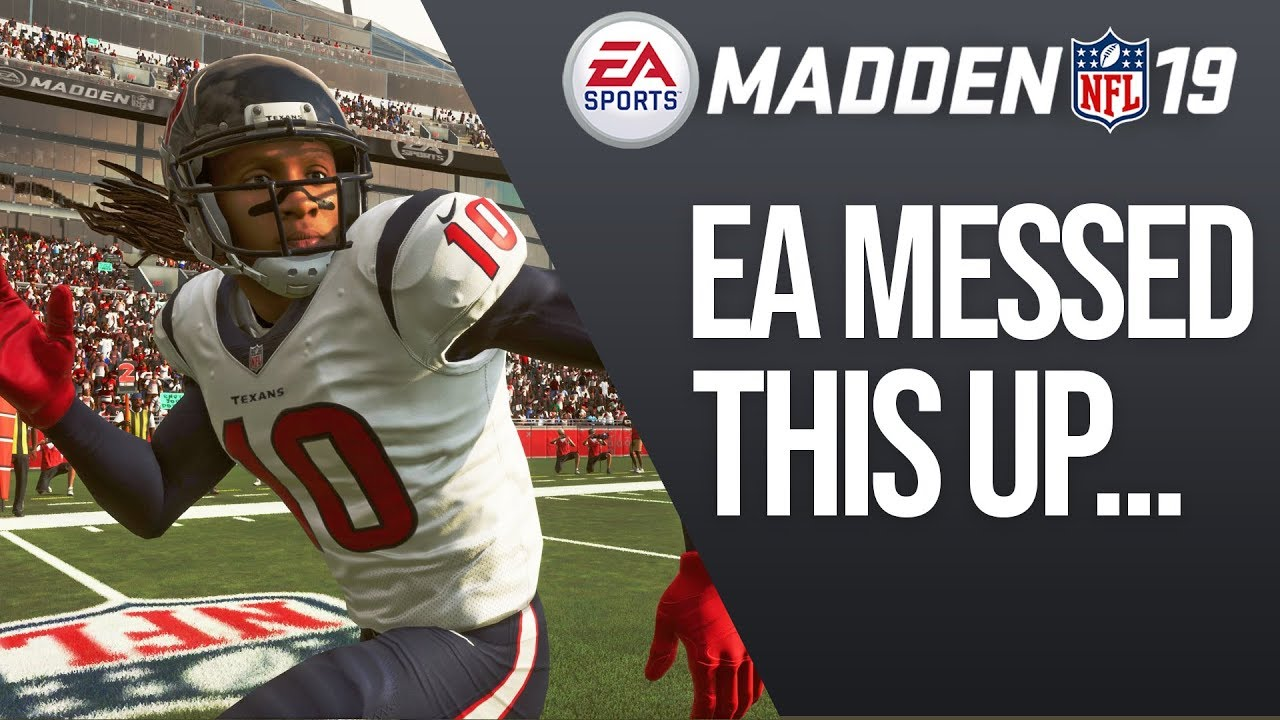 Madden 19 - 3 Things EA Dropped The Ball With...