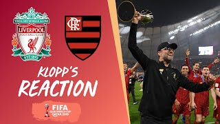 Klopp's Reaction: Jürgen on LFC becoming world champions | Liverpool vs Flamengo