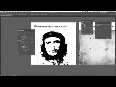 Adobe Illustrator / Vectorisation de l'image / Partie 1