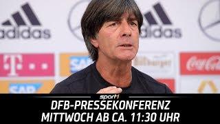 ReLIVE 🔴 | DFB-Pressekonferenz | 20.06. | WM 2018 | SPORT1 thumbnail