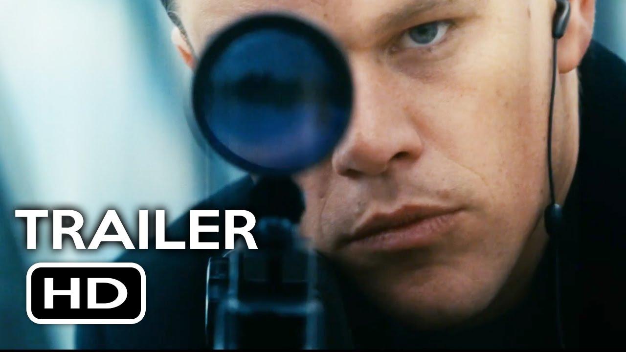Jason Bourne Official Trailer 1 2016 Matt Damon Action Movie Hd Youtube