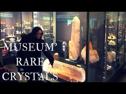 RARE AND HUGE CRYSTAL/ GEMSTONE COLLECTION : ROM- Royal Ontario Museum