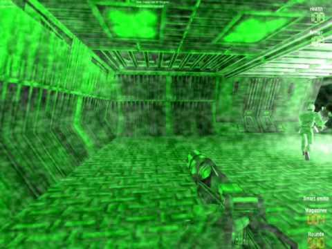 AvP Classic 2000 Multiplayer - Marine tracking Alien
