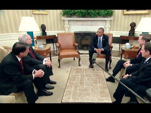 President Obama Addresses the National Governors Association