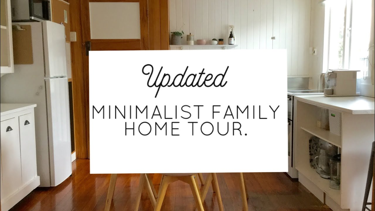 Updated House Garage Tour 2018 Minimalist Family Home Youtube
