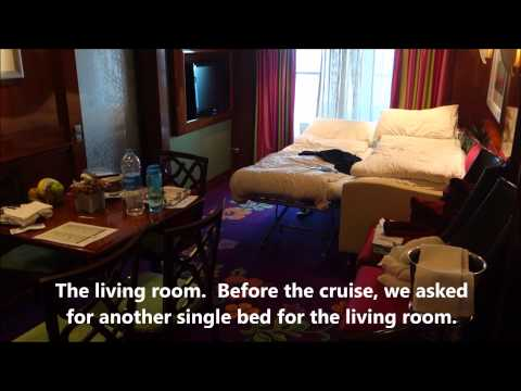 Norwegian Cruise Line NCL Jade 2 Bedroom Penthouse Suite Cabin 11018