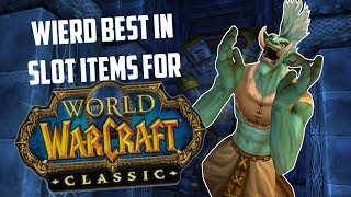 Classic WoW: Weird Items That Are Best in Slot