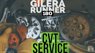 Scooter CVT Transmission: Full Service Inspection / Gilera Runner SKR TPH Hexagon Piaggio /FMPguides