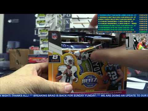 Sunday Funday NFL 25 Box Best Of Flawless Encased Optic Football Mixer – RANDOM TEAMS
