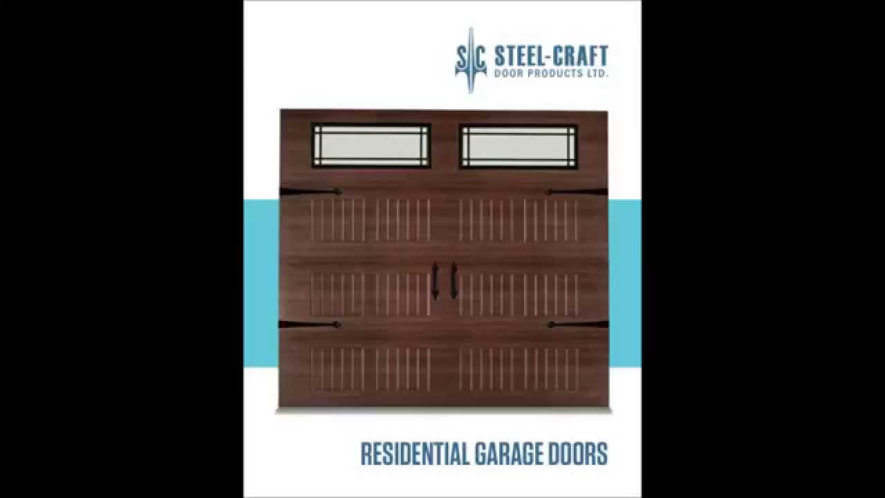 Steelcraft Garage Doors - Sold and Serviced by Waterloo Garage Doors & Steelcraft Garage Doors - Sold and Serviced by Waterloo Garage ... pezcame.com